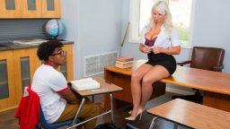 Genç zenciyi ofisteki asistan azdırdı